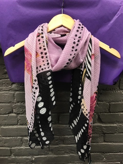 Scarf Striped Hat Rectangle Scarf