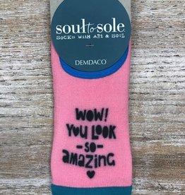 Socks Footie, You Look Amazing