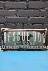 Decor Rescue Dog Throw Pillow