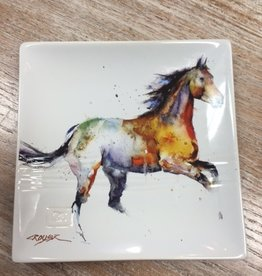 Kitchen Running Horse Snack Plate