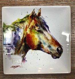 Kitchen Horse Head Snack Plate