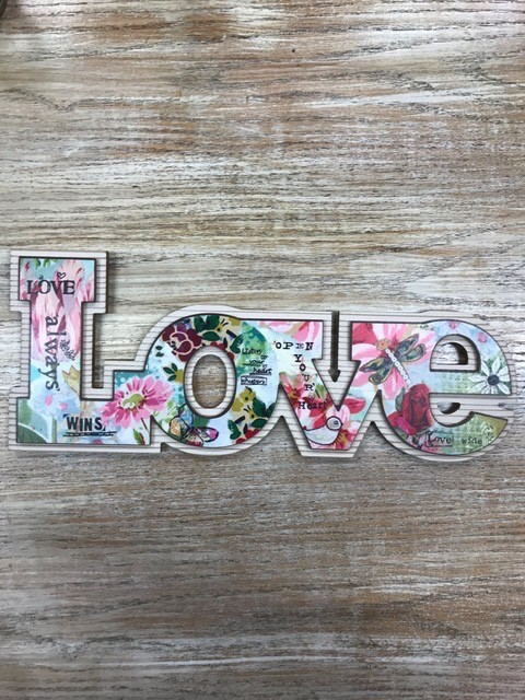 Decor Love Wall Art