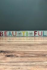 "Decor Beautiful Wall Art 4.5x36.5"""
