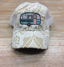 Hat Happy Glamper Crochet Hat