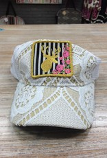 Accessory Golden Deer Crochet Hat