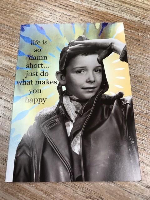 Card So Damn Short Card