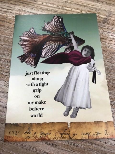 Card Make Believe World Card