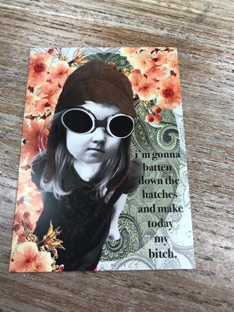 Card My Bitch Card