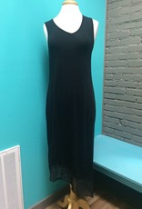 Dress Long Dress with Hem Detail