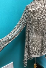 Cardigan Mocha Open Crochet Cardi