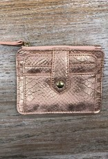 Wallet Small Snakeskin Card Wallet
