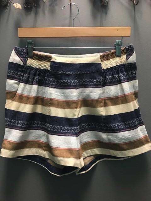 Shorts Taupe Savannah Striped Shorts