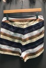 Shorts Taupe Savannah Striped Shorts
