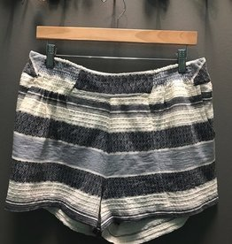 Shorts Blue Savannah Striped Shorts
