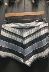 Shorts Blue Savannah Striped Shorts