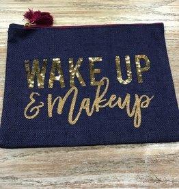Bag Wake Up Navy Jute Bag