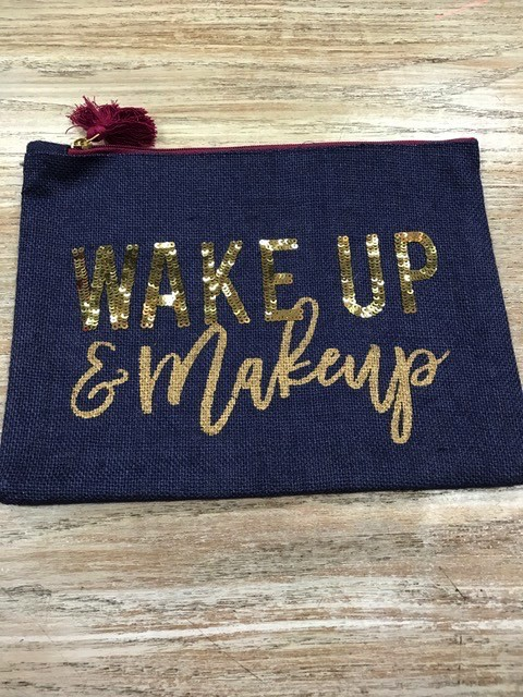 Bag Wake Up Navy Jute Bag