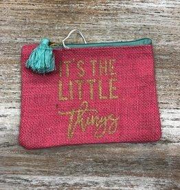Bag Little Things Pink Jute Bag