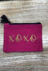 Bag XOXO Magenta Jute Bag