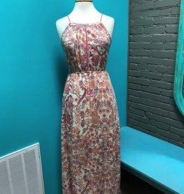 Dress Paisley Print Maxi Dress