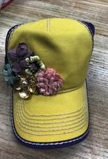Hat MultiColored Floral Cap