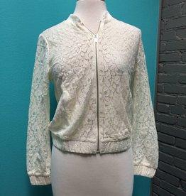 Jacket Woven Lace Jacket