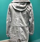 Jacket Light Blue Denim Jacket w/ Hood