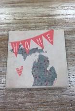 Decor MI Home Banner Coaster