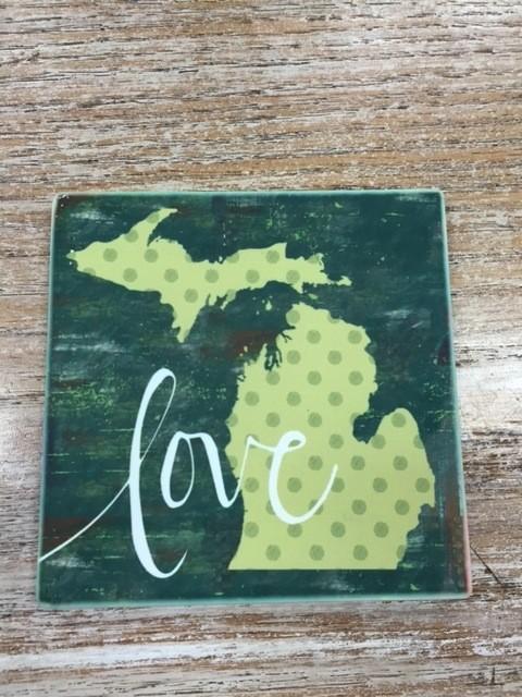 Decor Love Coaster