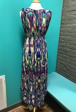 Dress Multi Colored Print HiLo Dress