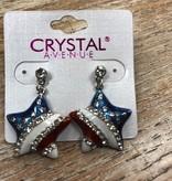 Jewelry America Star Stud Earrings