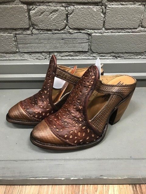 Shoes Honey Laser Inlay Mule
