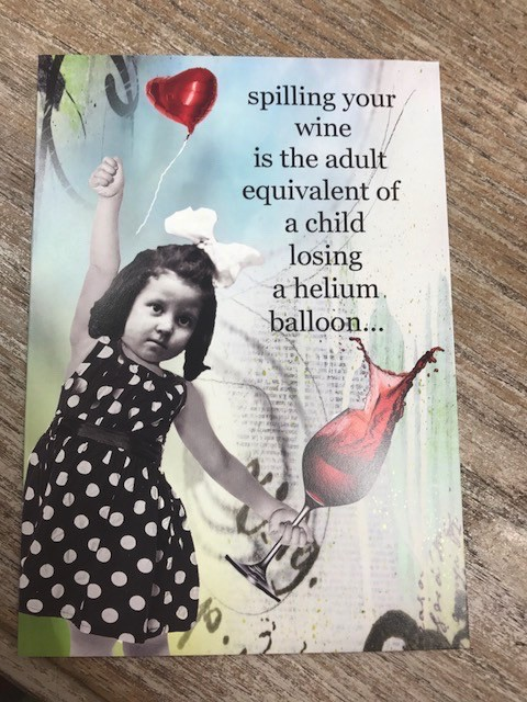 Card Helium Balloon Card