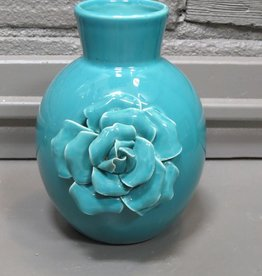 Decor Ceramic Molded Flower Vase