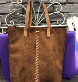 Bag Brown Faux Suede Bag