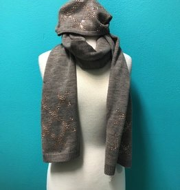 Scarf Taupe Beanie/Scarf Set