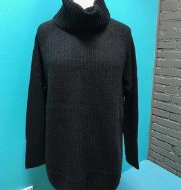 Sweater Gray Tobi Turtleneck