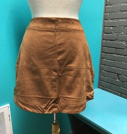 Skirt Iverson Suede Skirt