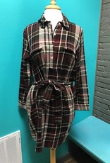 Dress Bale Flannel Shirt Dress