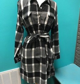 Dress Bale Flannel Shirt Dress