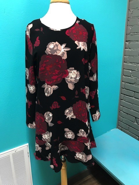 Dress Jesse Floral Flounce Dress