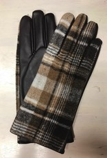 Gloves Pearle Plaid Gloves