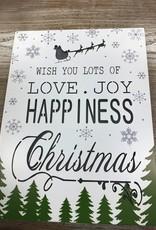 Decor Love Joy Happiness LED Sign