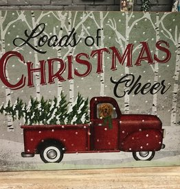 Decor Loads of Christmas Cheer Sign