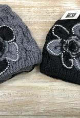 Beanie Knit Beanie w/ Flower