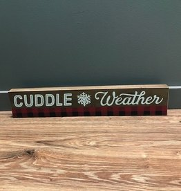 Decor Cuddle Weater Wall Art 24x4.5