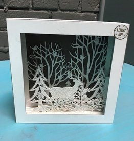 Decor Lit Woodland Scene Decor 6x6