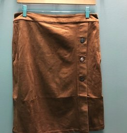 Skirt Faux Suede Skirt