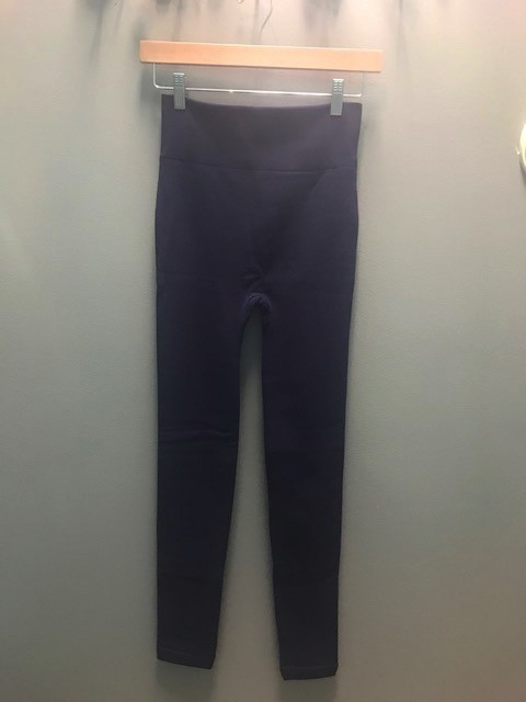 Leggings Color Fleece Lined Leggings