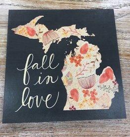 Decor Fall In Love Sign